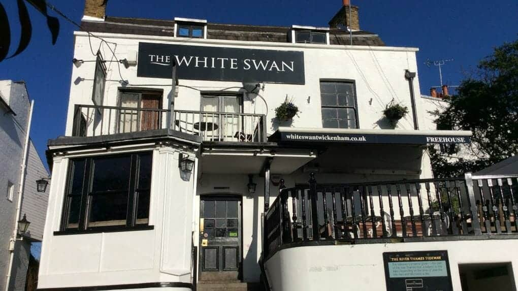 London Pubs - white swan