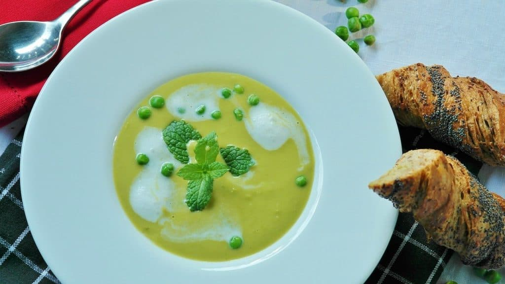 pea-soup-list of high protein vegetarian foods