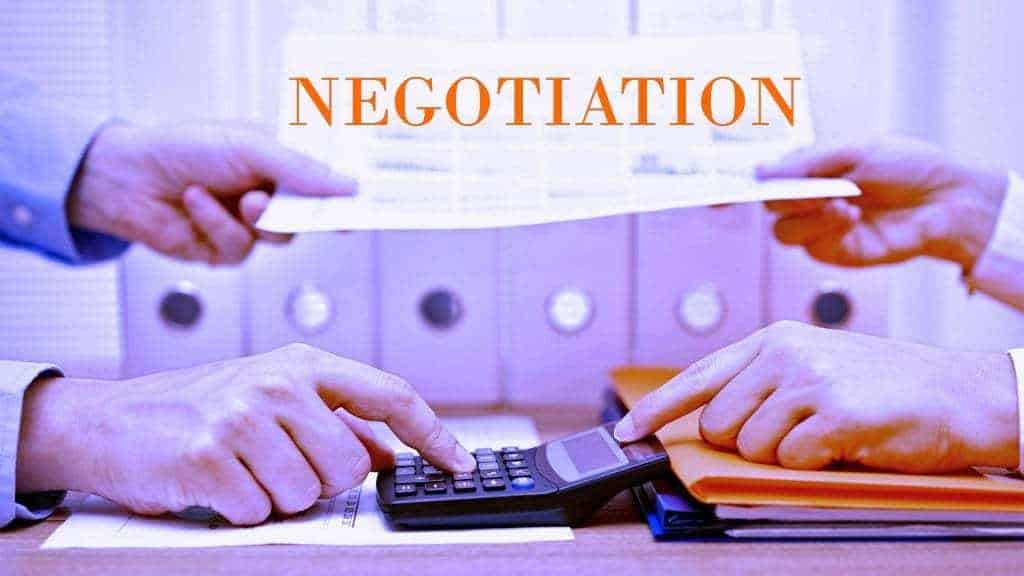Smart Negotiation