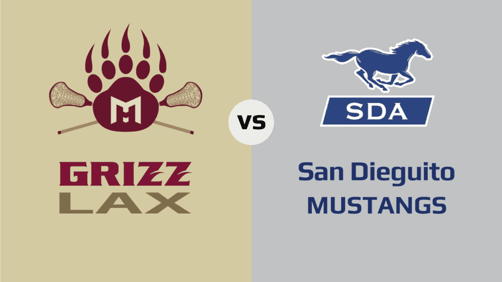 Mission Hills Grizzlies vs. San Dieguito Mustangs
