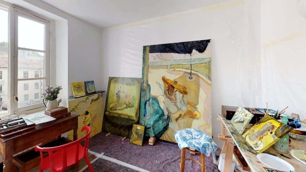 Guglielmo Castelli, Studio View