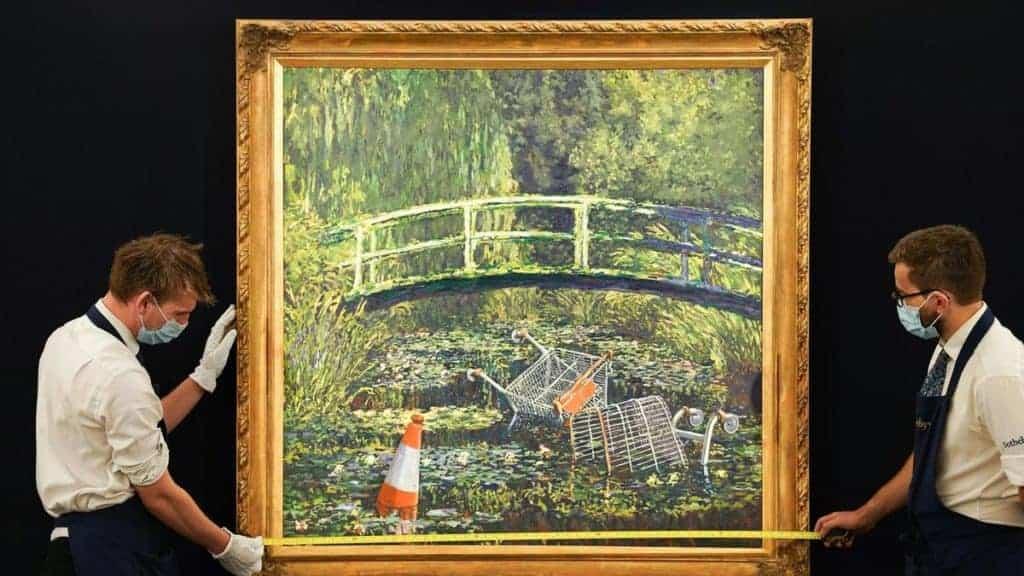 Banksy, Show Me The Monet