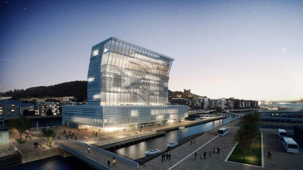 A new art museum in Oslo opening in 2021.