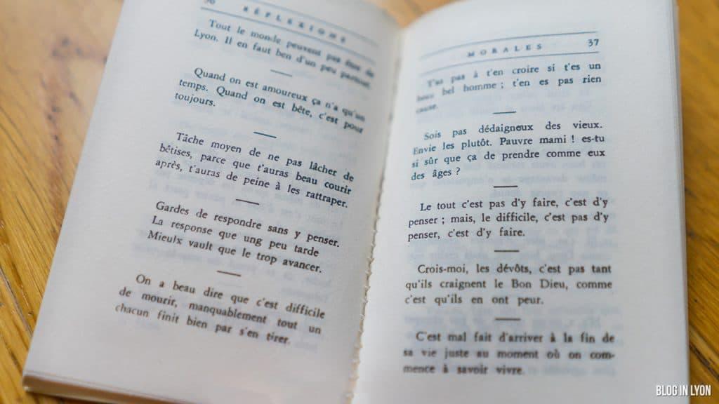 La plaisante sagesse lyonnaise parler lyonnais expressions maximes - Blog In Lyon