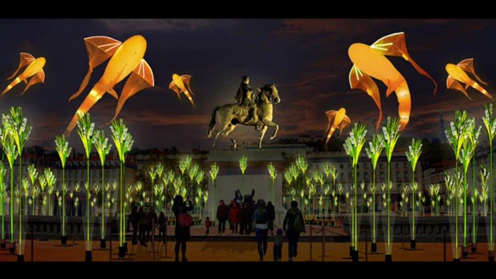 Fête des Lumières 2019 - Place Bellecour | Blog In Lyon