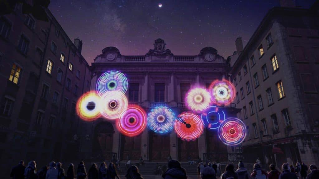 Fête des Lumières 2019 - Place du Change | Blog In Lyon