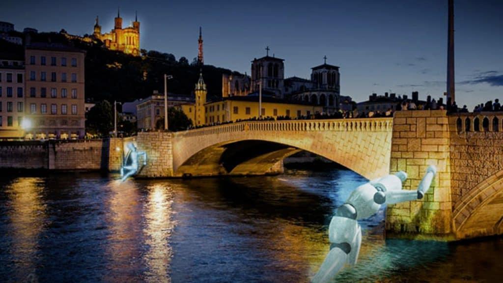 Fête des Lumières 2019 - Pont Bonaparte | Blog In Lyon