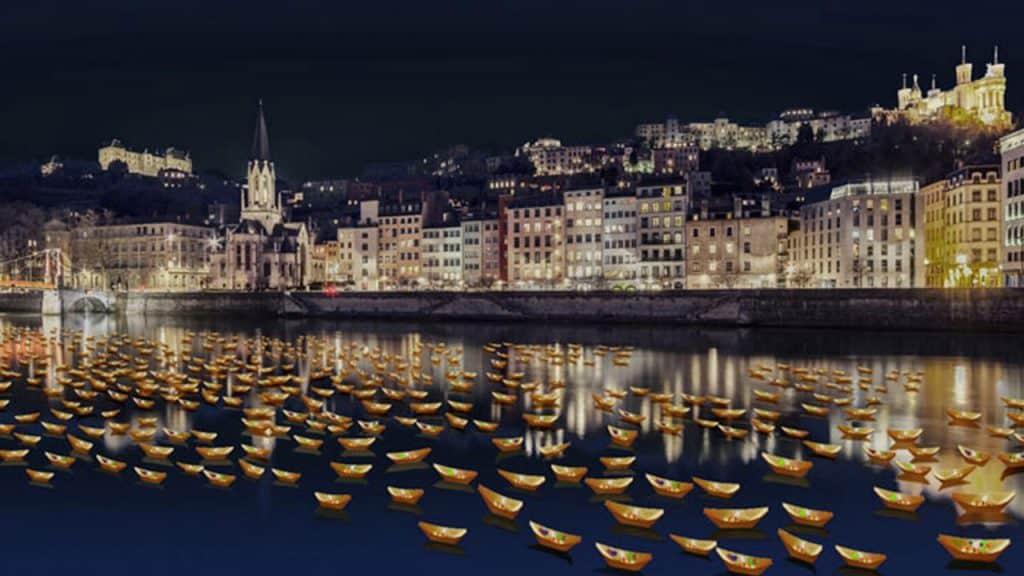 Fête des Lumières 2019 - Rives de Saône | Blog In Lyon