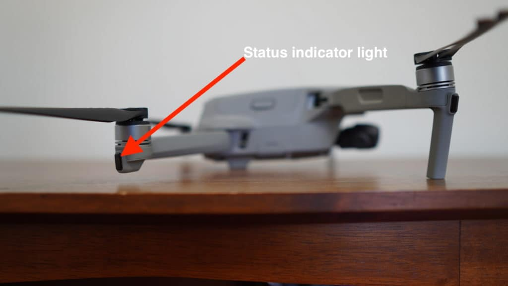 mavic air 2 status indicator