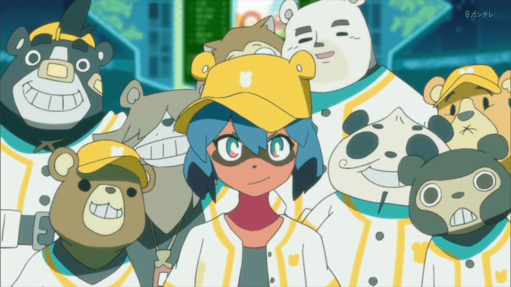 BNA anime Netflix Michiru