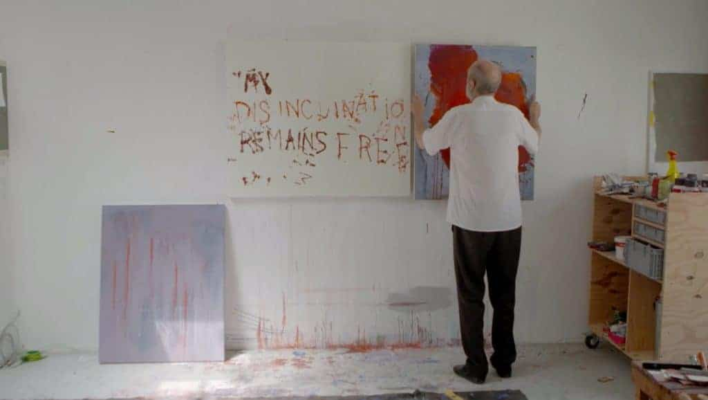 Walter Swennen In His Studio - The Crimson Tongue, A Film by Violaine de Villers (2017)