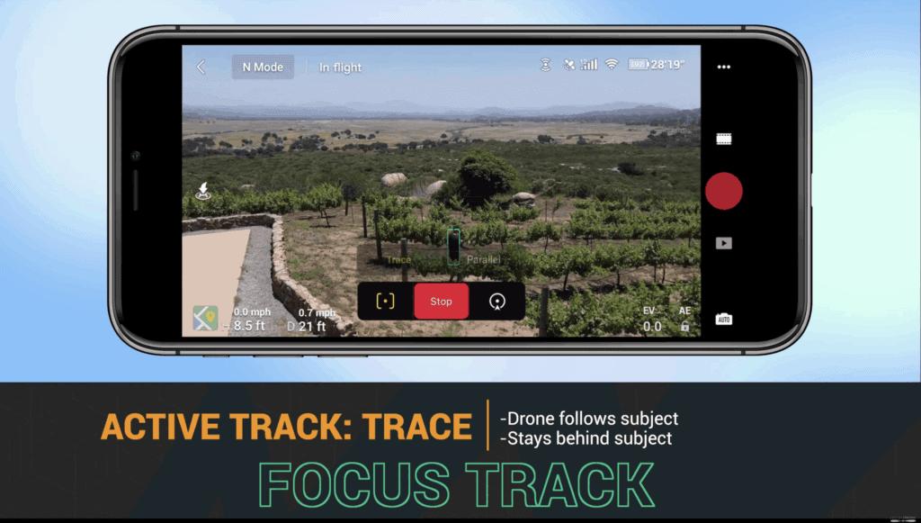 Mavic air 2 focus track