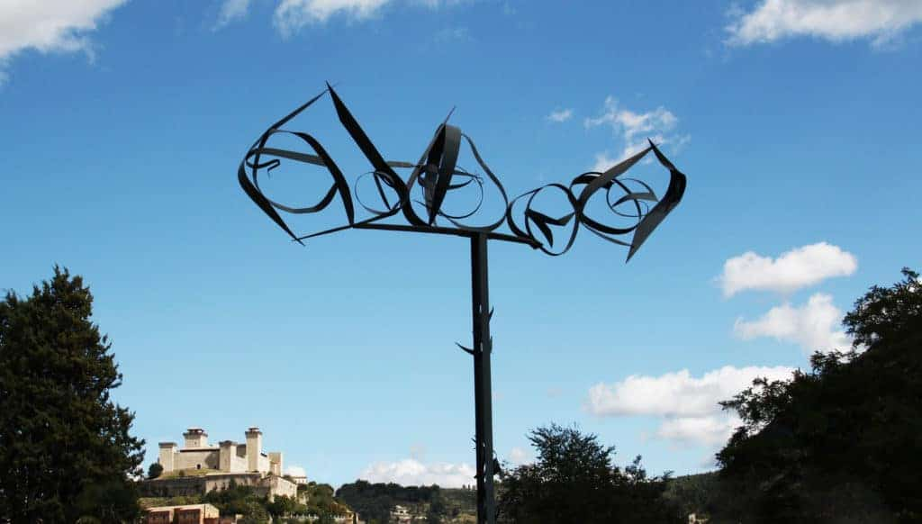 Beverly Pepper, The Gift of Icarus, Spoleto (Italy)