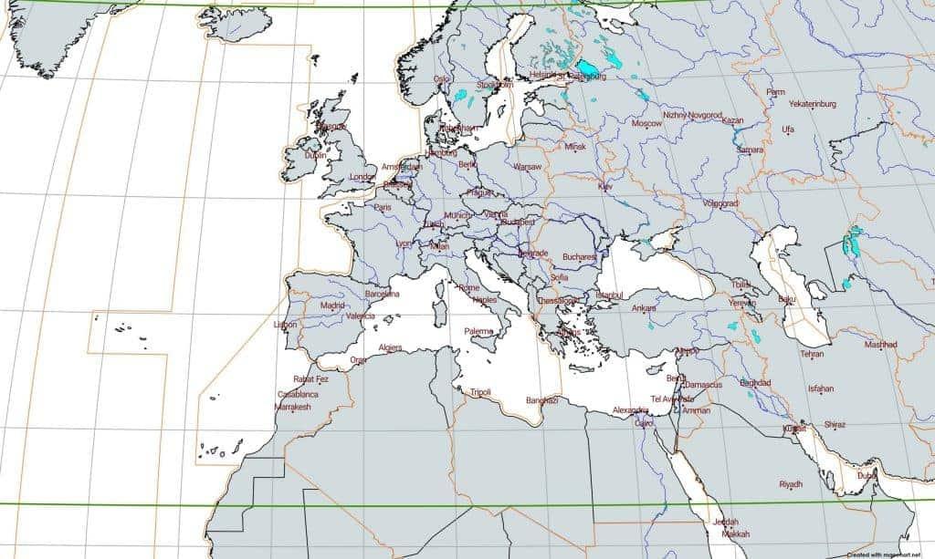 rivers lakes europe