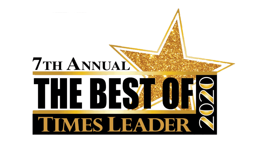 Times Leader award badge