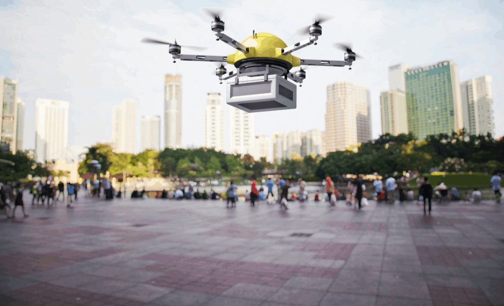Positive Use of Drones