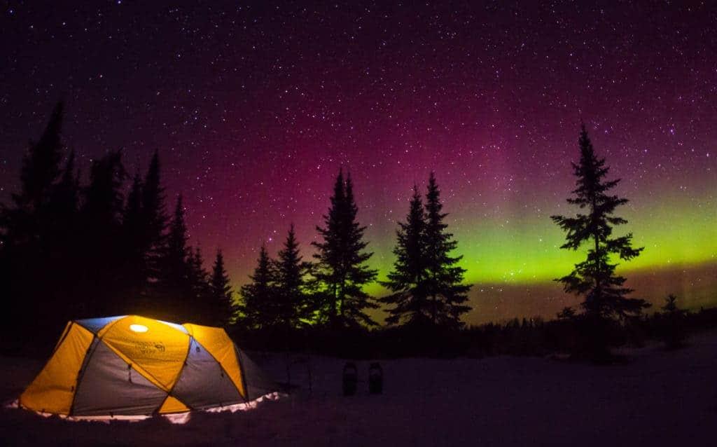 Voyegeurs National Park Minnesota Northern Lights.