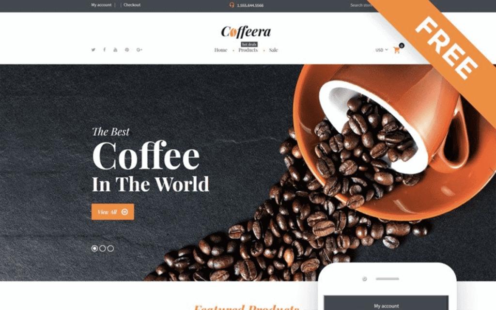 coffeera Shopify theme free