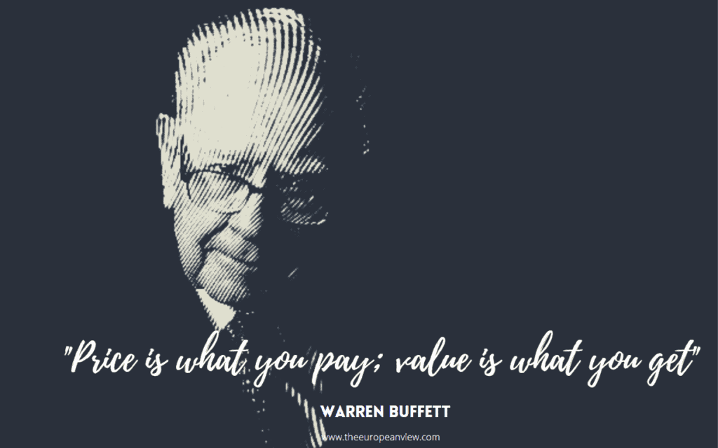 Price is what you pay; value is what you get