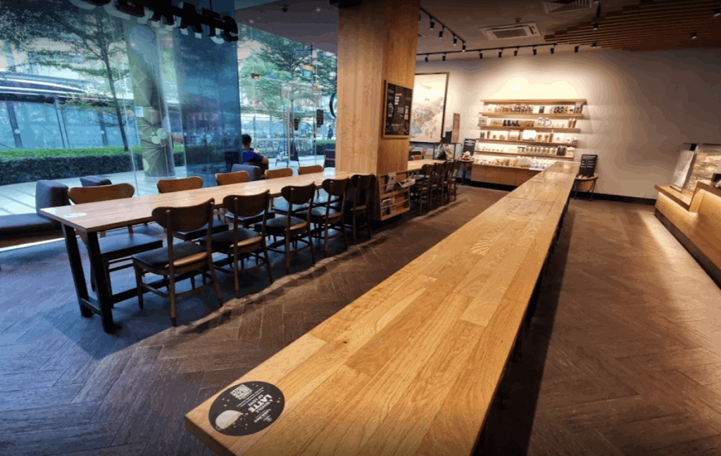 top starbucks in singapore