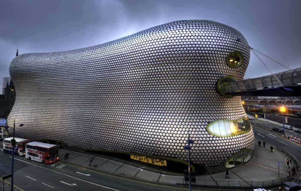Selfridges Building: Birmingham, United Kingdom. blobitecture