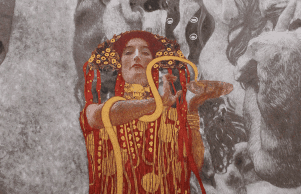 "Lost artwork ""Medicine"" by Gustav Klimt"
