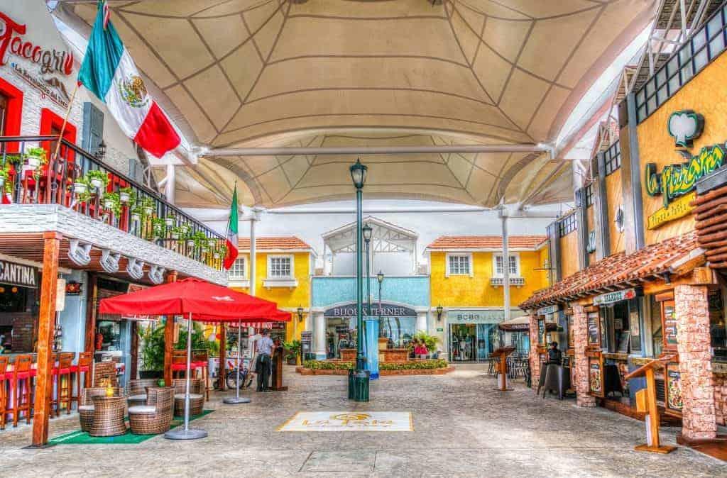 Cancun downtown