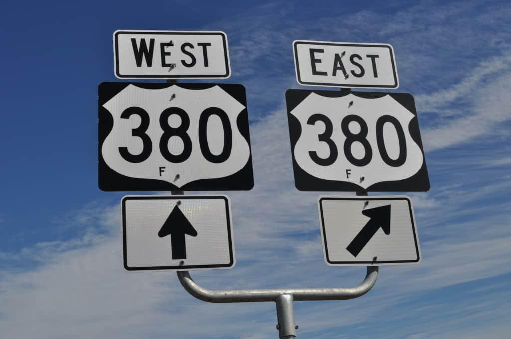 highway 380