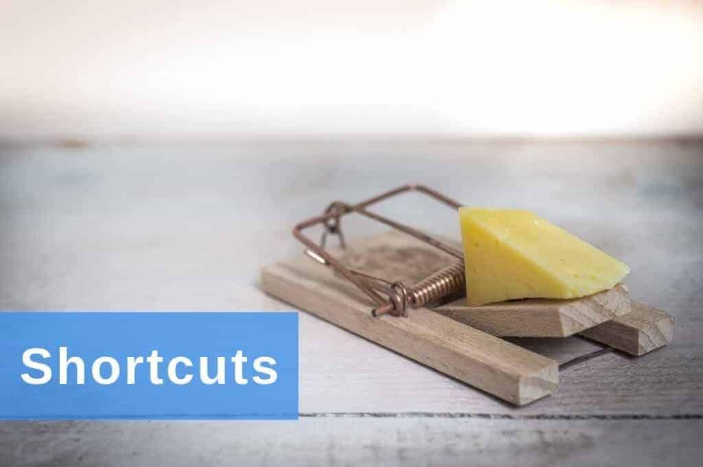 Excel Insights: Die Mausefalle mit Käse symbolisiert die Überlegenheit der Excel Shortcuts gegenüber der Eingabe mit der Maus.