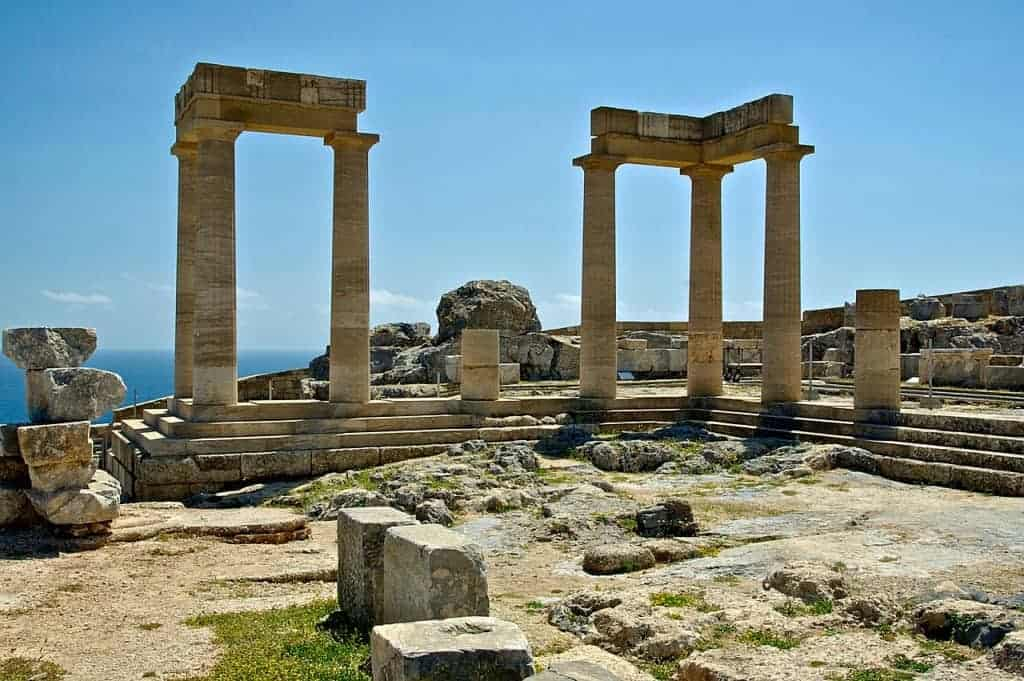 Greece facts : Rhodes is where Sun God Helios spent most of his time