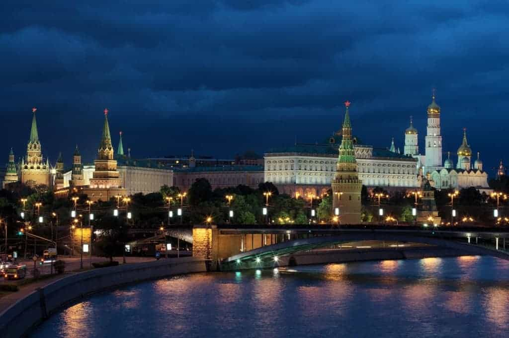 Historical places in Russia: Moscow