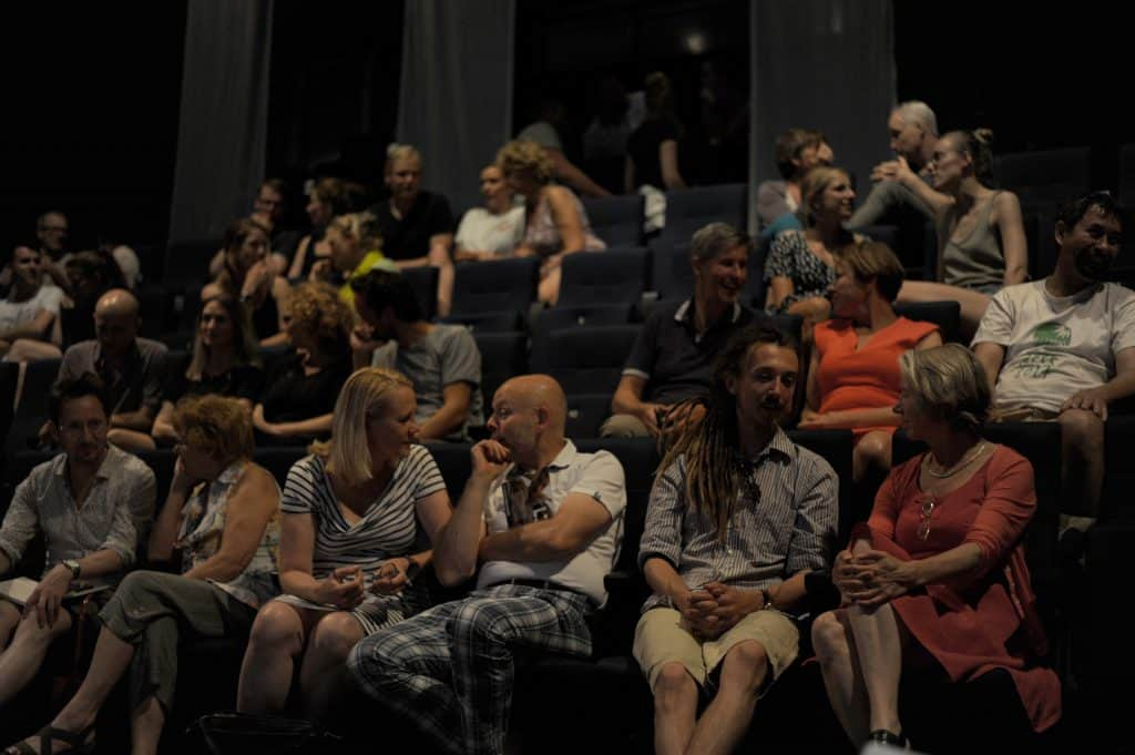 publiek in gesprek