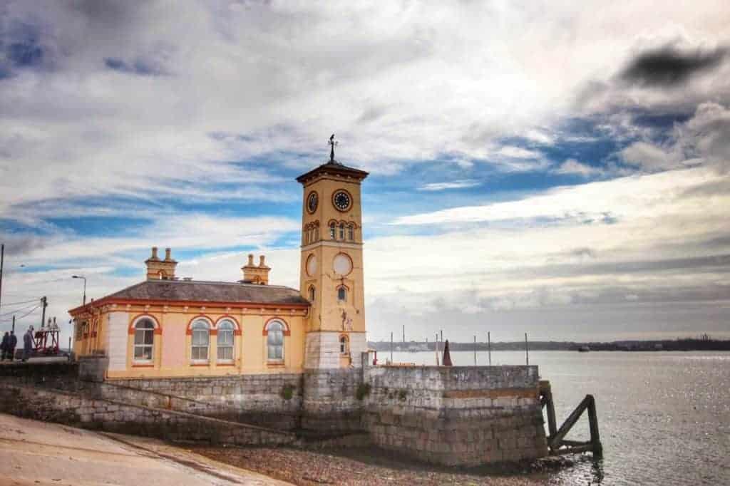 Old Town Hall Cobh Ireland Disney Magic Transatlantic cruise