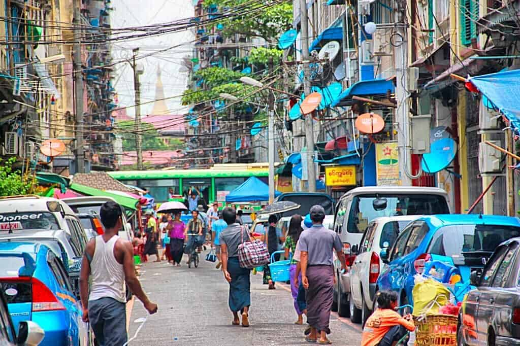 Capital city of Myanmar has recently relocated.