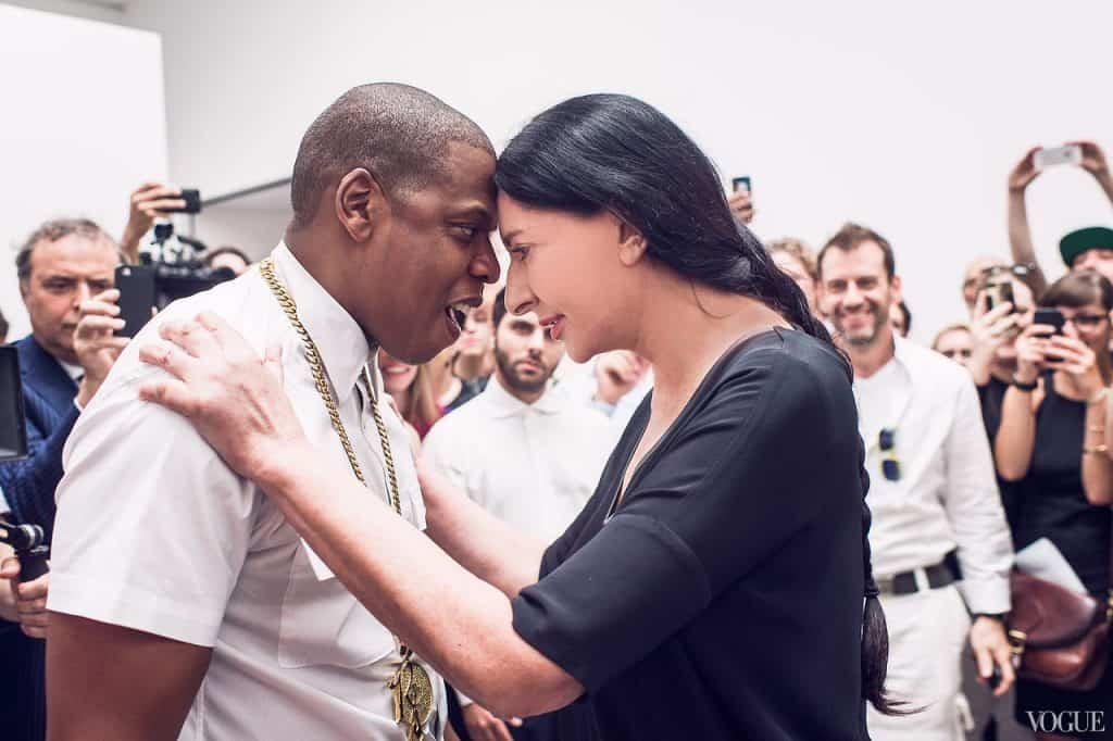 Marina Abramovic stars in Jay Z's music video for 'Picasso Baby'.