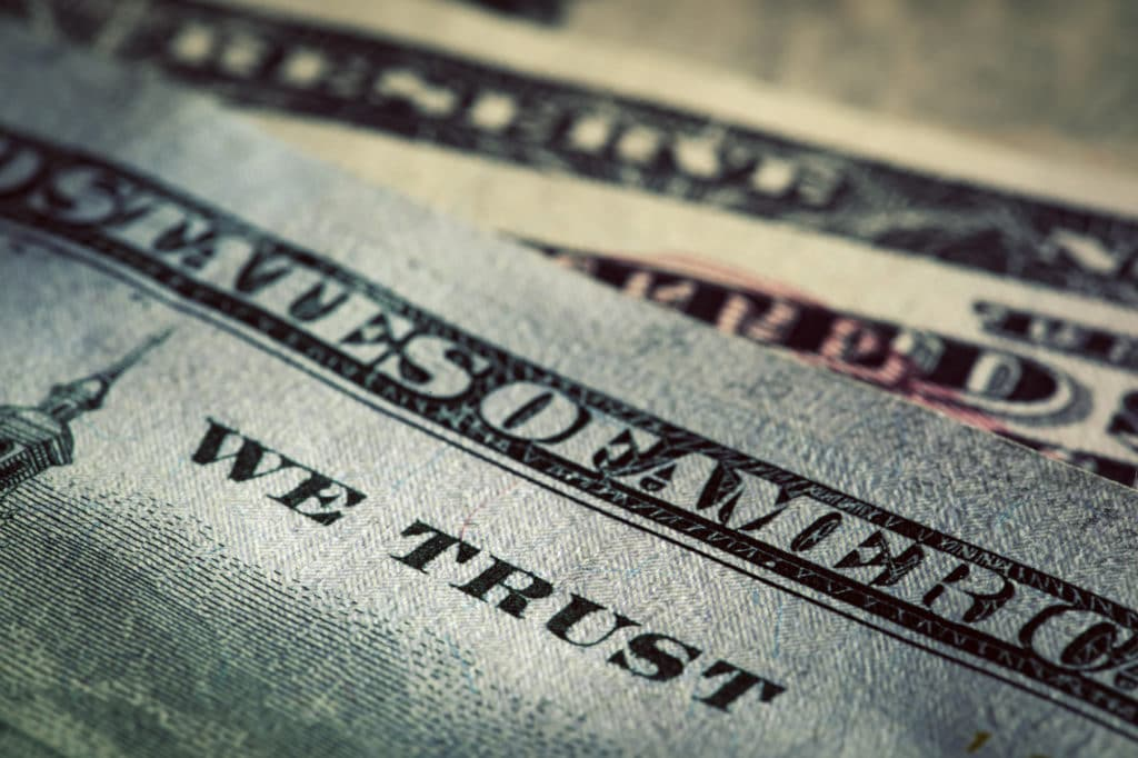 bank-of-america-swot-analysis-opportunities In God We Trust motto on One Hundred Dollars bill