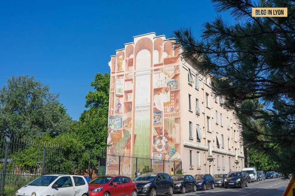 Fresques et murs peints - Rive Gauche - Fresque de Gerland | Blog In Lyon