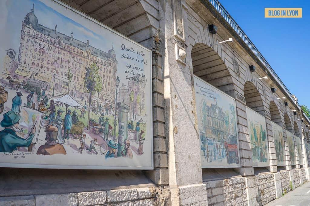 Fresques et murs peints - Rive Gauche - Fresque du Centenaire | Blog In Lyon