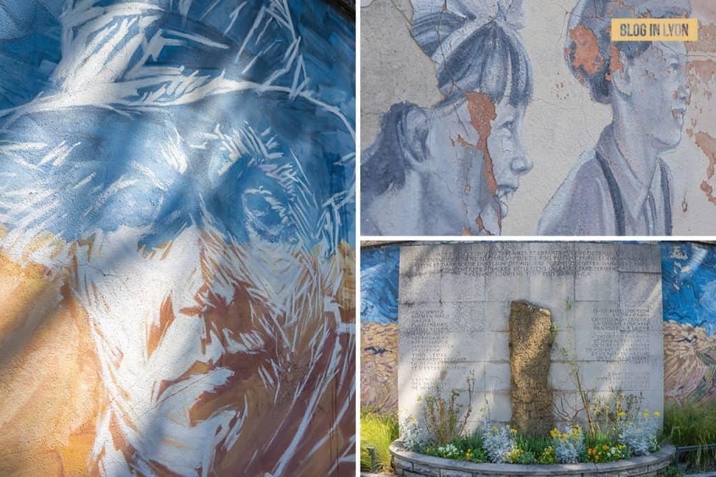 Fresques et murs peints - Rive Gauche - Fresque de Montluc | Blog In Lyon