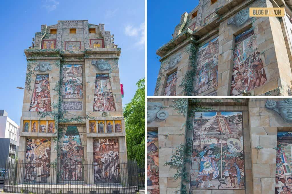 Fresque Diego Rivera - Top 15 des plus beaux murs peints de Lyon | Blog In Lyon
