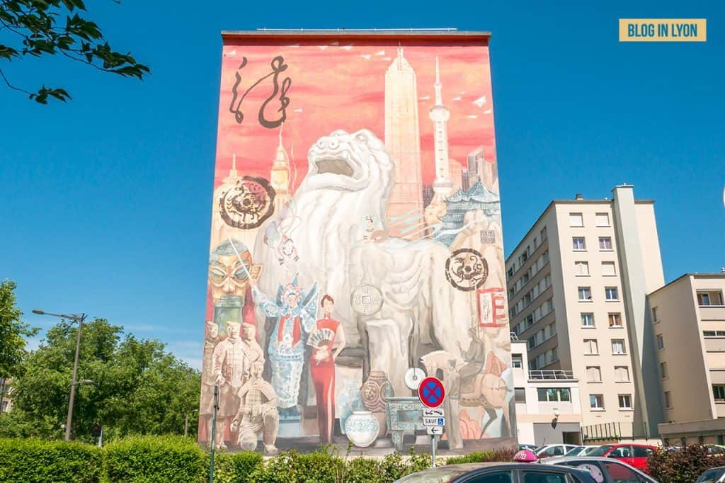 Fresque Shanghaï - Mur peint Lyon | Blog In Lyon