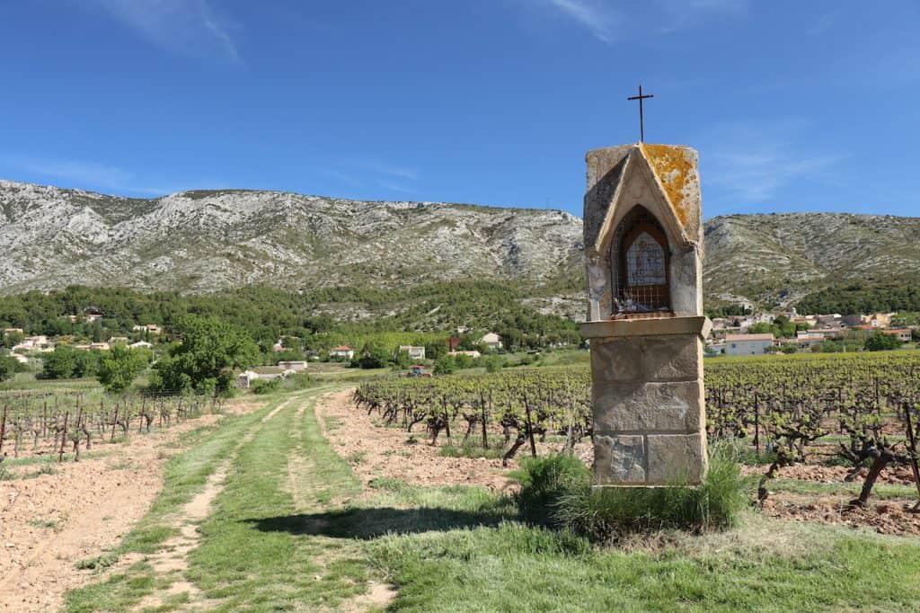 winemaker's trail oratoire st roch