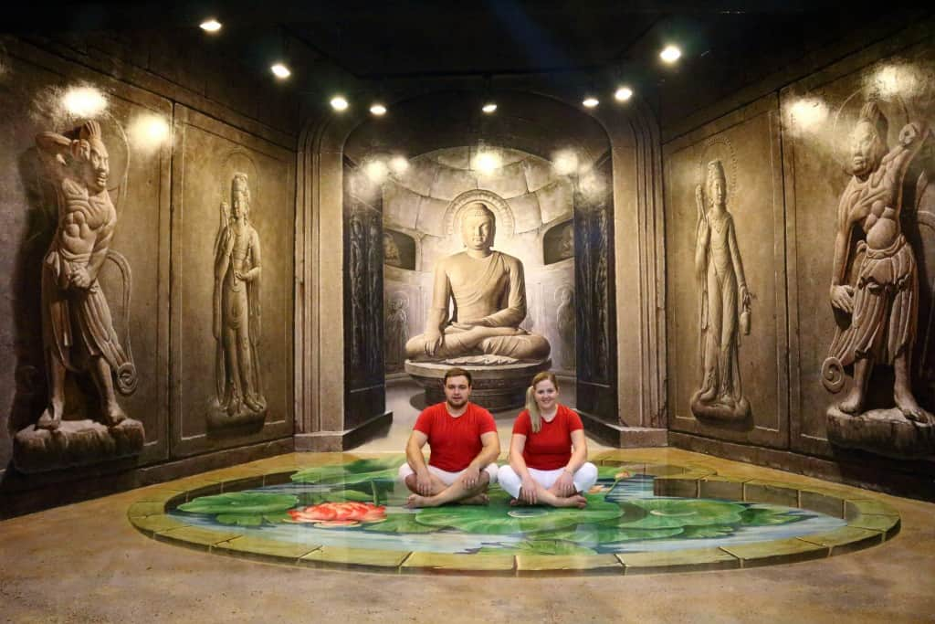 Meditating as a couple