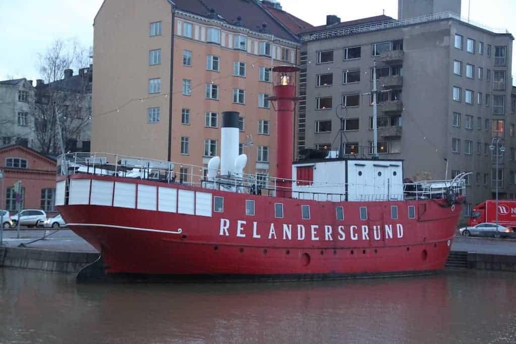 relandersgrund ship Helsinki Finland