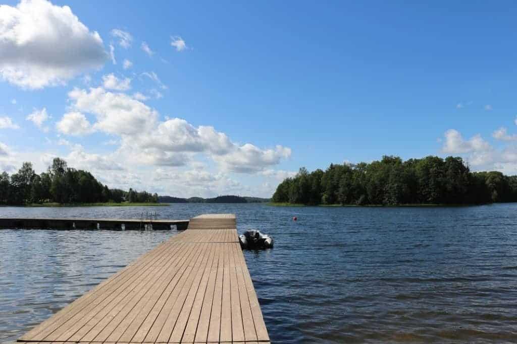 Otepaa holy lake