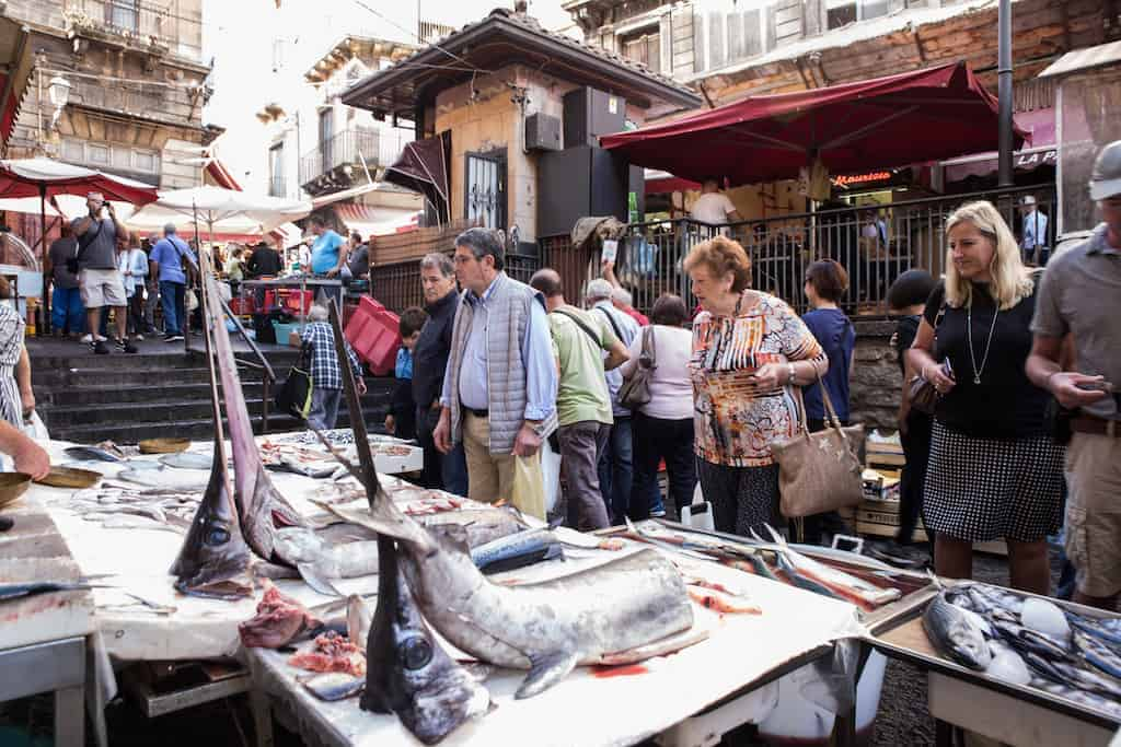 The amazing fish market better known as la pescheria