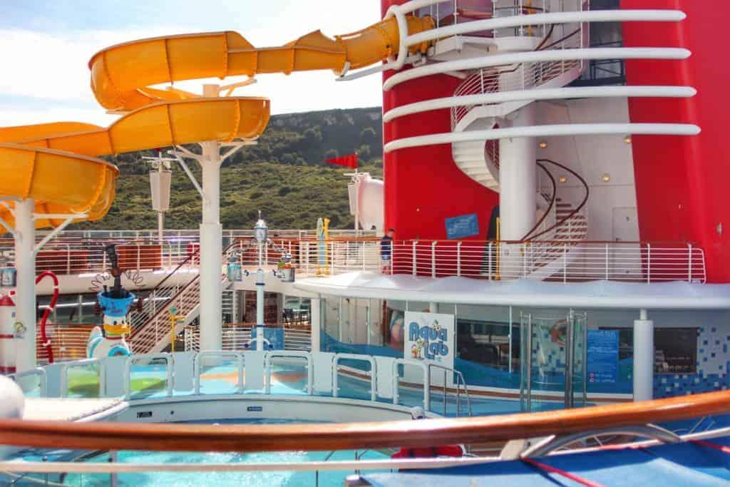 Twist n Spout and AquaLab Disney Magic Transatlantic Cruise