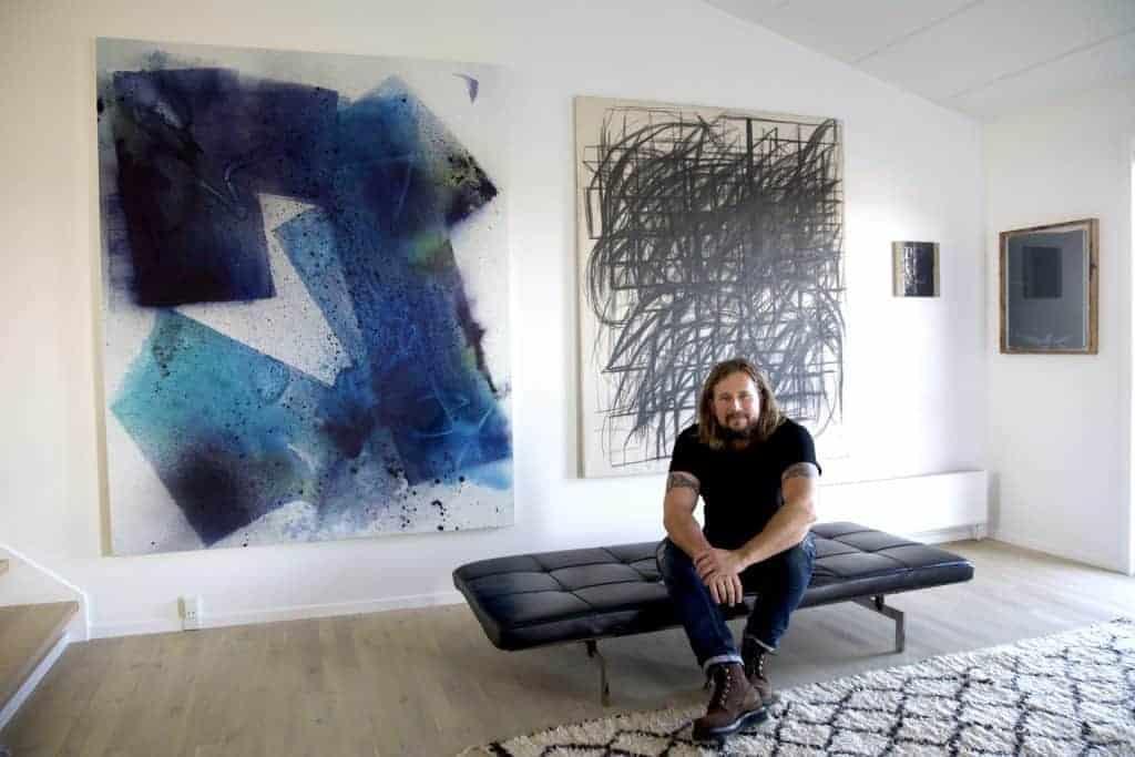 Lars Holst art collector