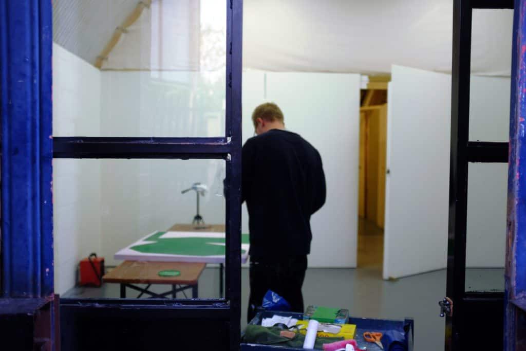 Michael Wall studio