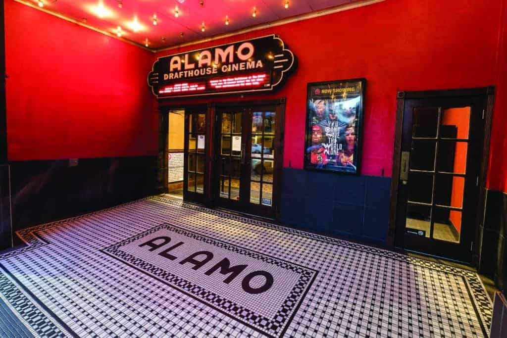 The Alamo Drafthouse Ritz location in Austin, Texas.